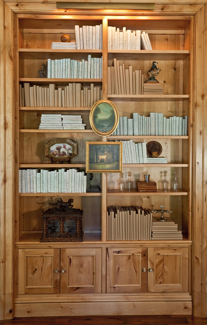 Bookcase at Meadowood